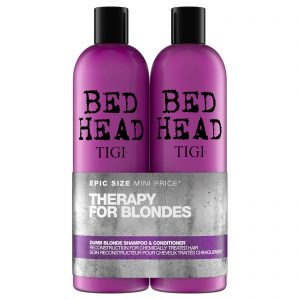 Bed Head by Tigi Dumb Blonde Repair Shampoo and Reconstructor | Hermossa.co.uk