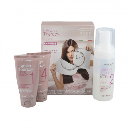 Alfaparf Milano Lisse Design Keratin Therapy Treatment Set Intro Kit | Hermossa.co.uk