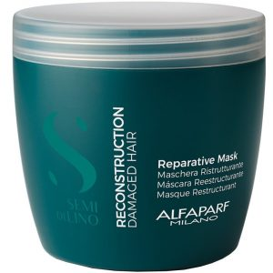 Alfaparf Milano Semi di Lino Reconstruction Reparative Hair Mask 500ml | Hermossa.co.uk