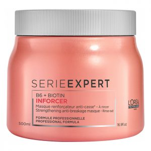 haircare products l'oreal serie-expert-inforcer mask B6 biotin 500ml