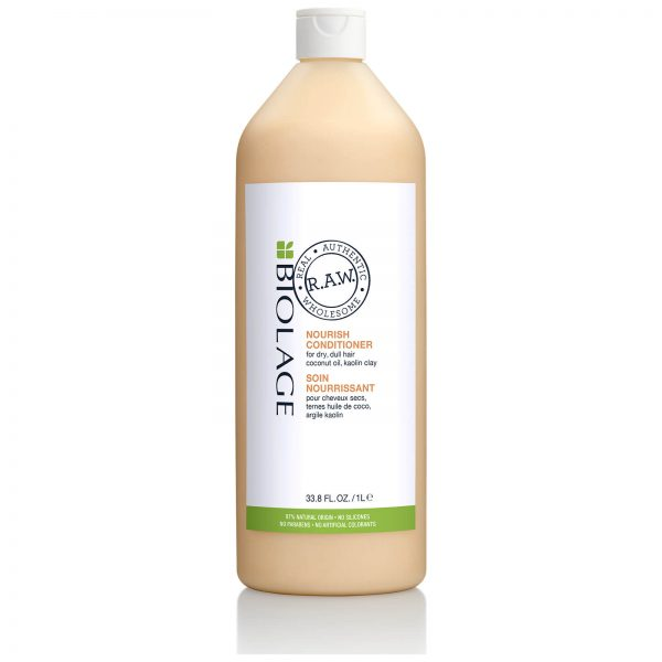 matrix biolage raw nourish conditioner 1000ml hairdressing supplies