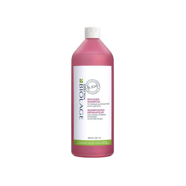 matrix biolage raw recover shampoo 1000ml hairdressing supplies