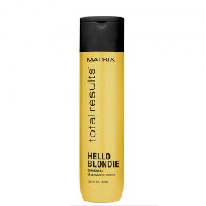 matrix total results hello blondie shampoo hairdressing supplies